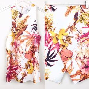 Cameo   Tropical Floral Tank Skirt Set